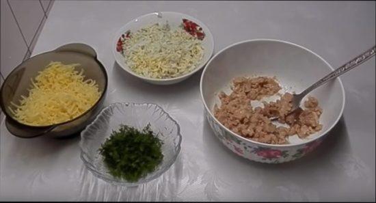 бутерброды с тунцом консервированным и плавленым сыром
