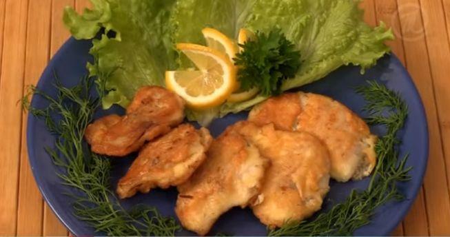 Кляр для рыбы (классический) - пошаговый рецепт с фото на Повар.ру | 344x653