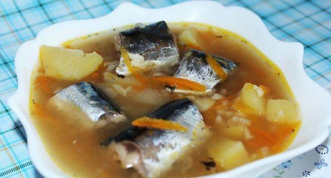 Полезный рыбный супчик из свежемороженой рыбы