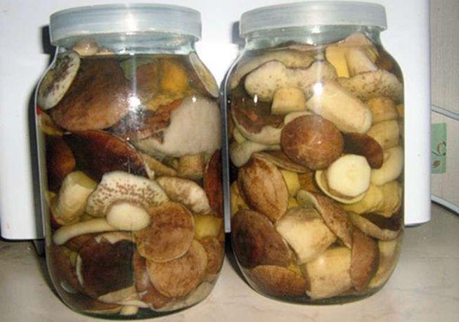Засол подберезовиков на зиму, рецепт на 1 литр воды