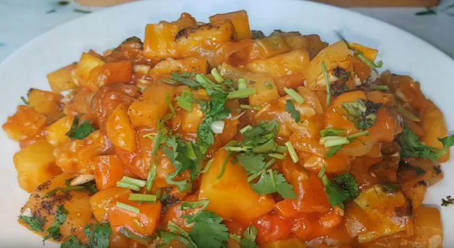 Рагу овощное с кабачками и баклажанами -вкусные рецепты для вас