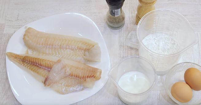 Использование кляра при жарении рыбы