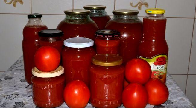 на ваш выбор и вкус разные рецепты томатного сока