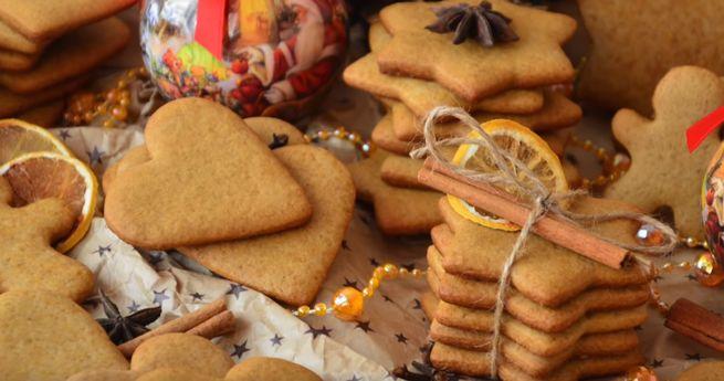 рецепт вкусного имбирного печенья