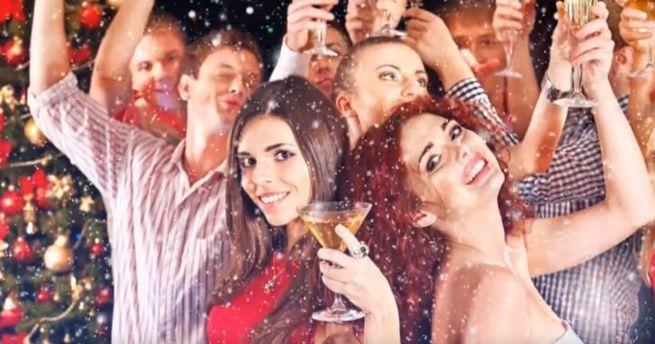 В новогоднюю ночь
