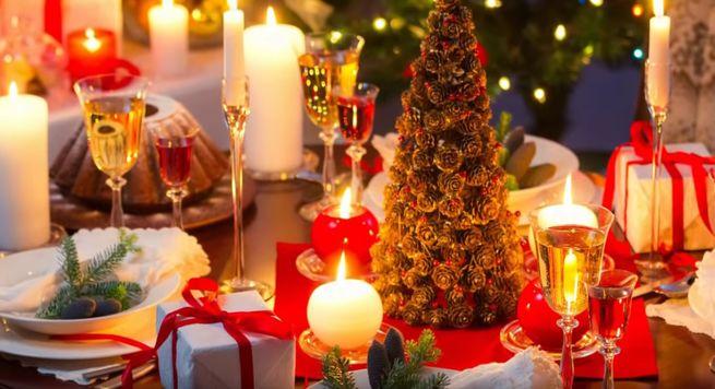 украсить Новогодний стол