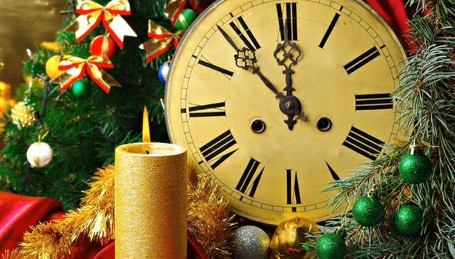колесо осуществления новогодних пожеланий