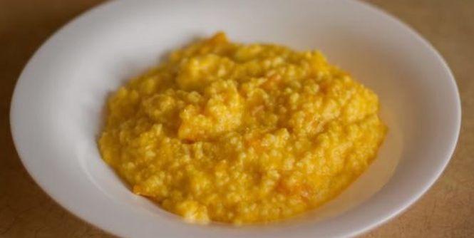 Рецепт тыквенной каши с пшенной крупной