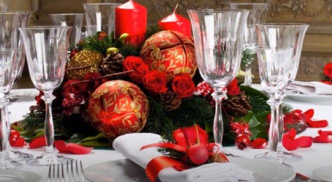 сервировка новогоднего стола - как правильно