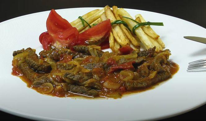 Азу - это национальное татарское блюдо