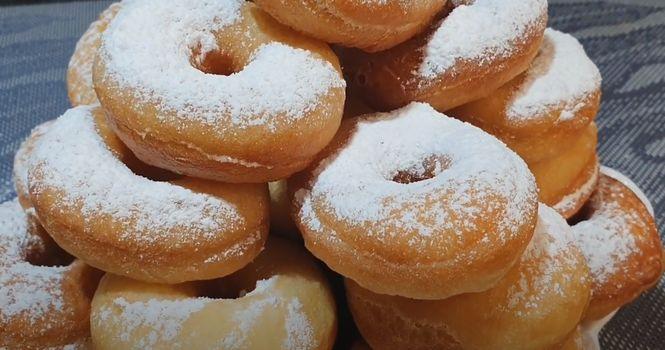 самые вкусные домашние пончики