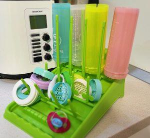 limpiar esterilizar biberones