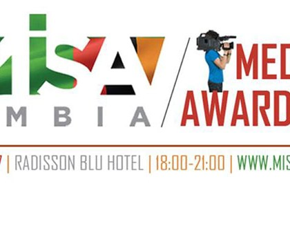 MISA Zambia launches 2017 Media Awards