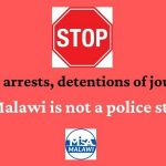 Stop senseless arrests