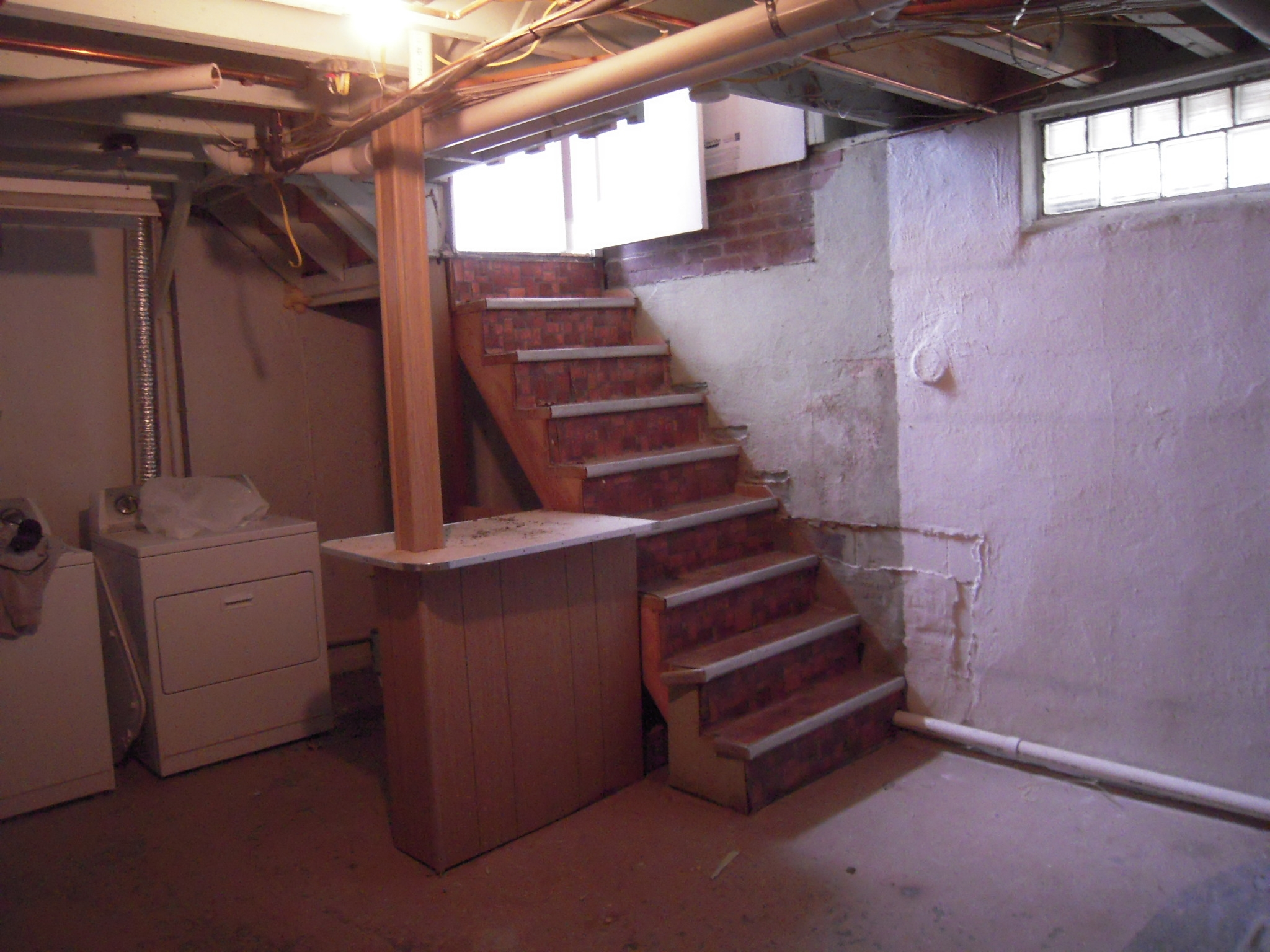 Basement Stairs Adventures In Remodeling | Cost To Build Stairs To Basement | Spiral Staircase | Deck | Risers | Doors | Stair Treads