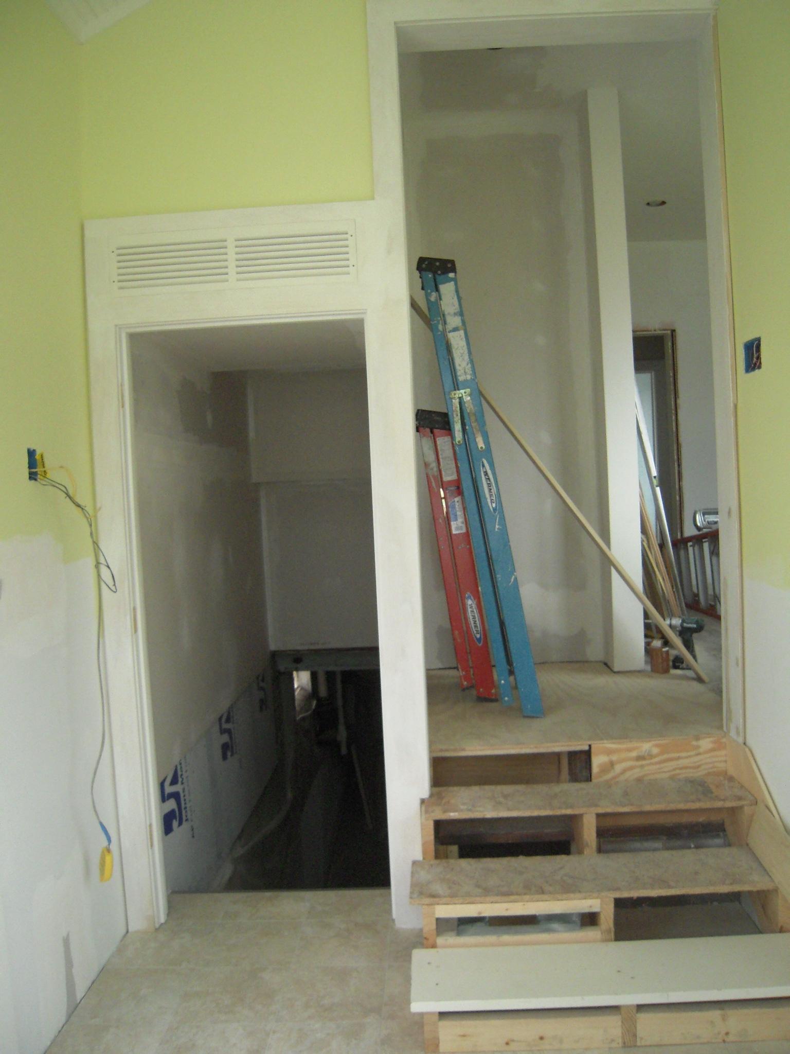 Steep Basement Stairs Adventures In Remodeling