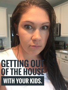 Do you struggle with getting out of the house with small kids? Me too! Check out my post on leaving the house with kids for some helpful tips!