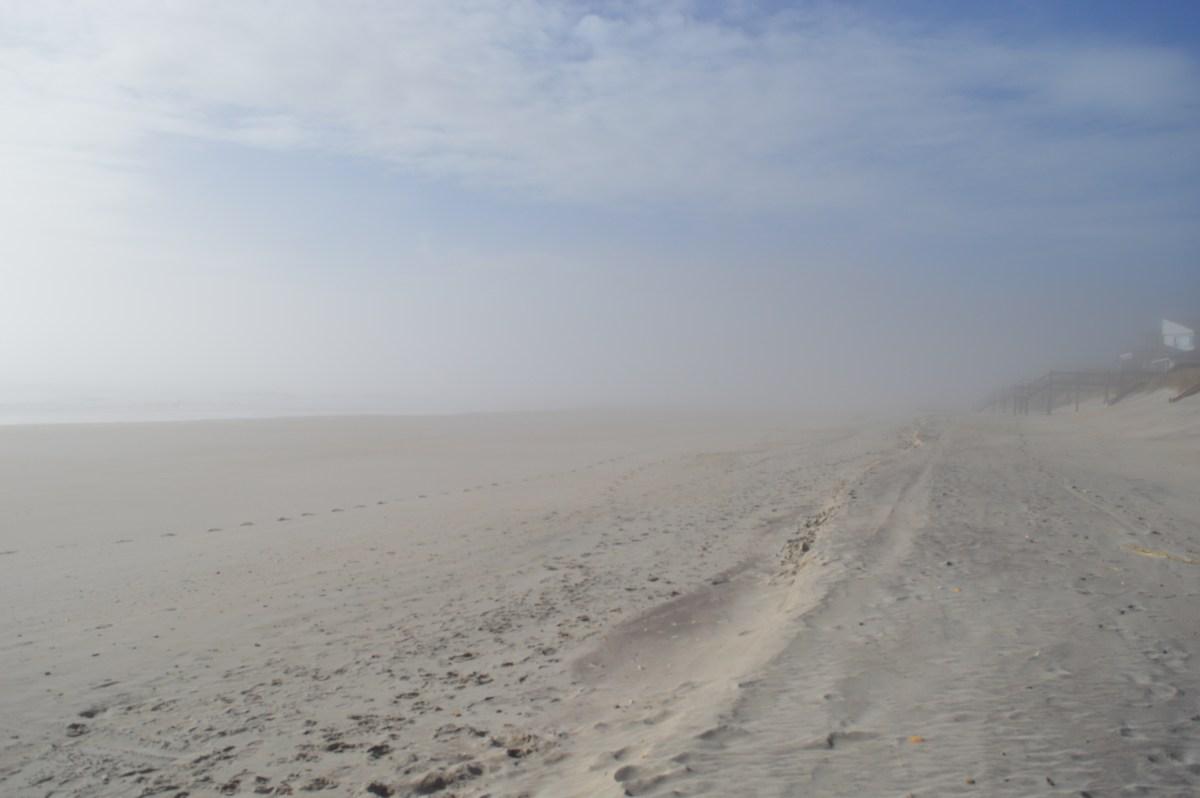 Foggy Day on Beautiful Topsail Island