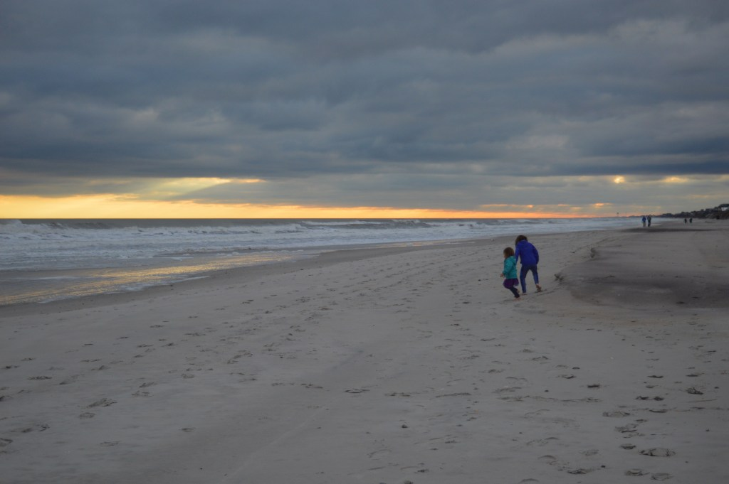 Topsail Island has such calm beaches and beautiful sunsets!