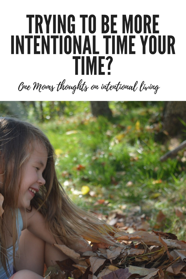 Tips and thoughts on living intentionally for moms.