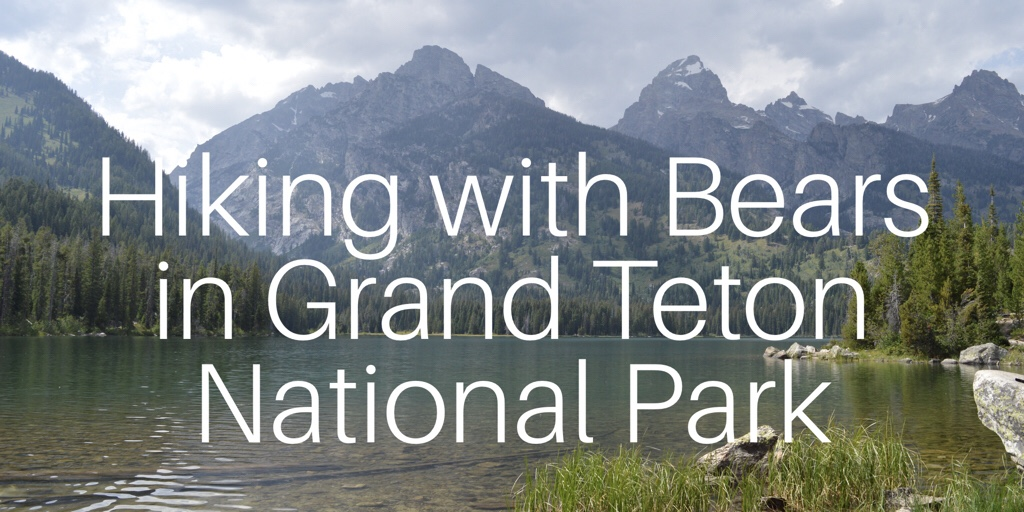Grand Teton National Park – Don't get eaten by a Grizzly.