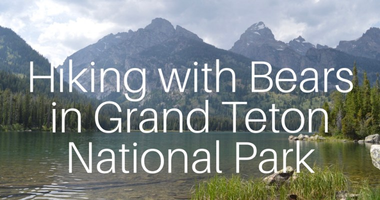 Grand Teton National Park – Don't get eaten by Grizzly.
