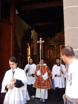 Domingo de Ramos. Forma Extraordinaria Rito Romano. Ermita de San Antonio Abad. Gran Canaria.