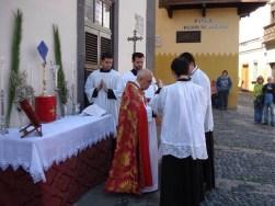 Domingo de Ramos. Forma Extraordinaria Rito Romano. Ermita de San Antonio Abad. Gran Canaria_