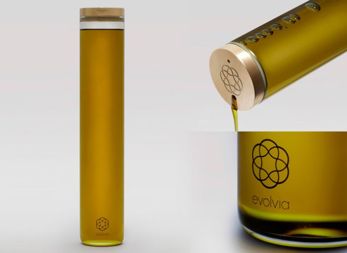 innovación en packaging aceite Evolvia