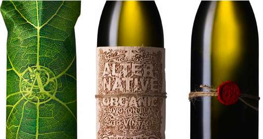 branding y packaging vino Alter Native