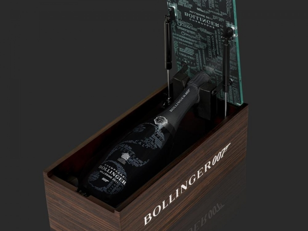 champagnes exclusivos James Bond