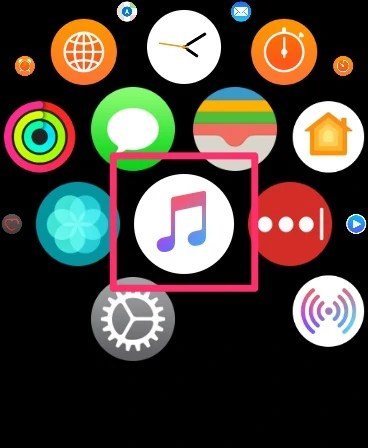 Apple Watch ミュージックアプリ