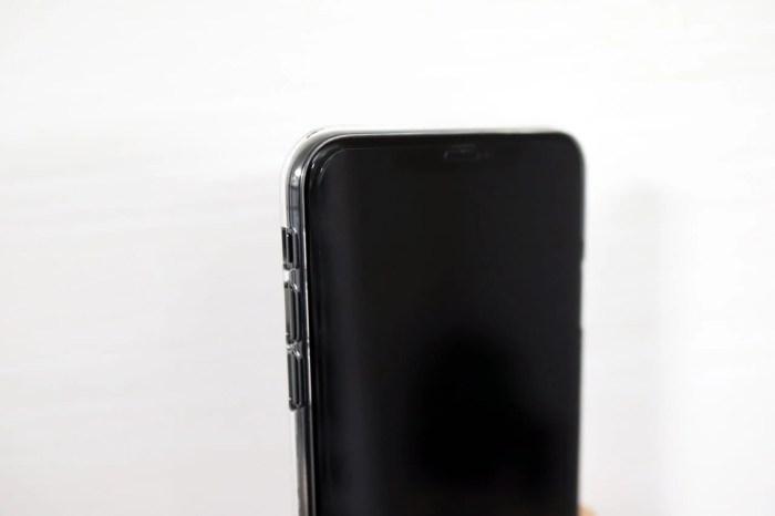 iPhone XS Max Air Jacketのコーナー部分