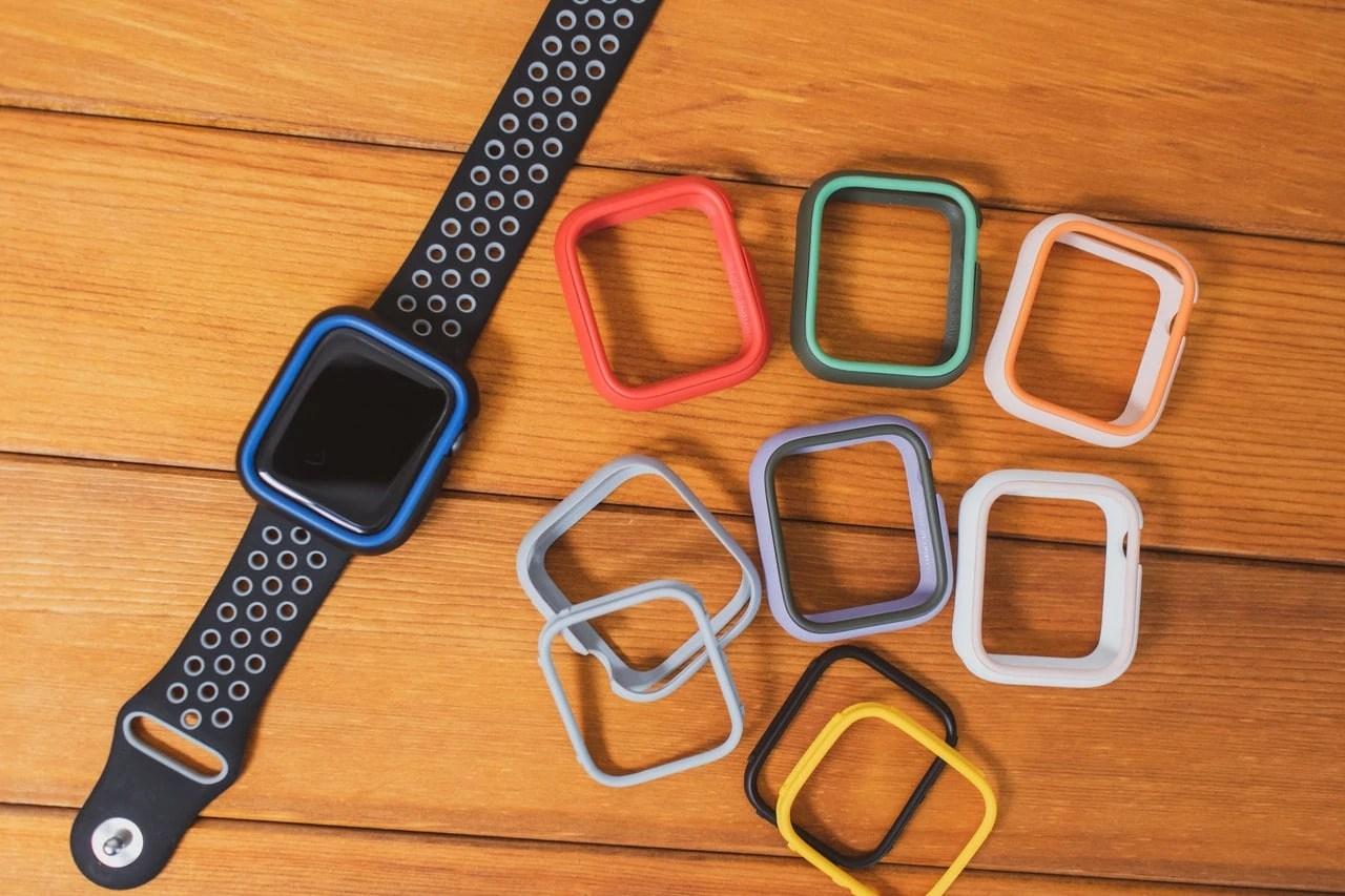 RhinoShield Apple Watch CrashGuard NXバンパーケースの特徴