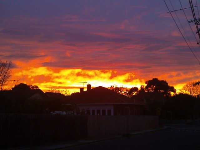A Melbourne sunset <3