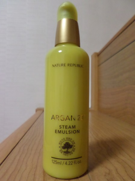 Nature Republic Argan 20 Steam Emulsion... heavenly!