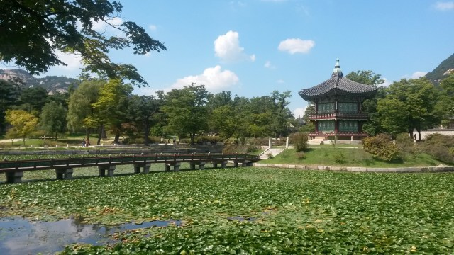 Hyangwonjeong Pavillion in Seoul