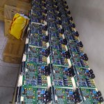 Pretty Maids All In A Row at the uBITX factory