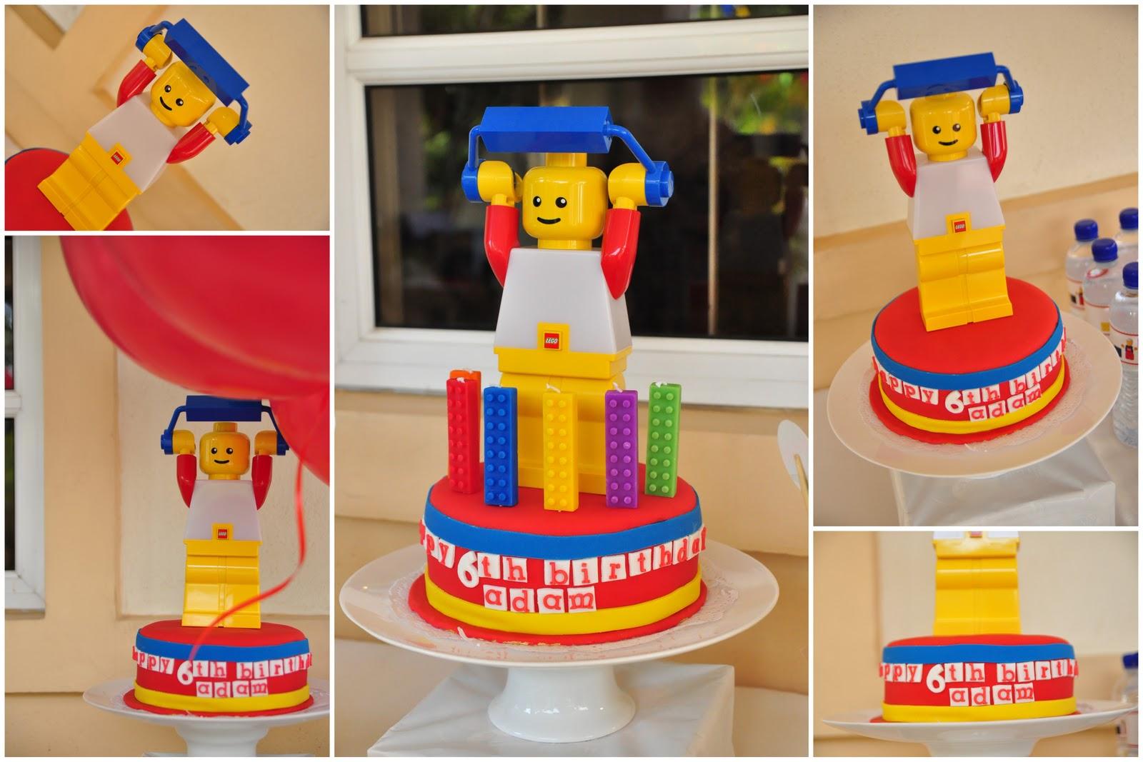 Lego Party Theme Inspiration Cake Ideas