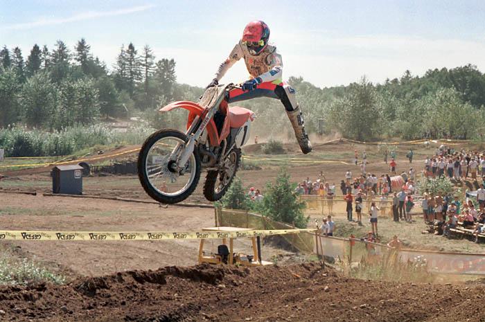 Alan Dyck motocross 1990