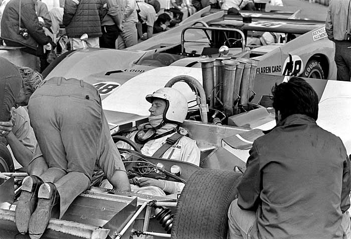 George Eaton race car driver