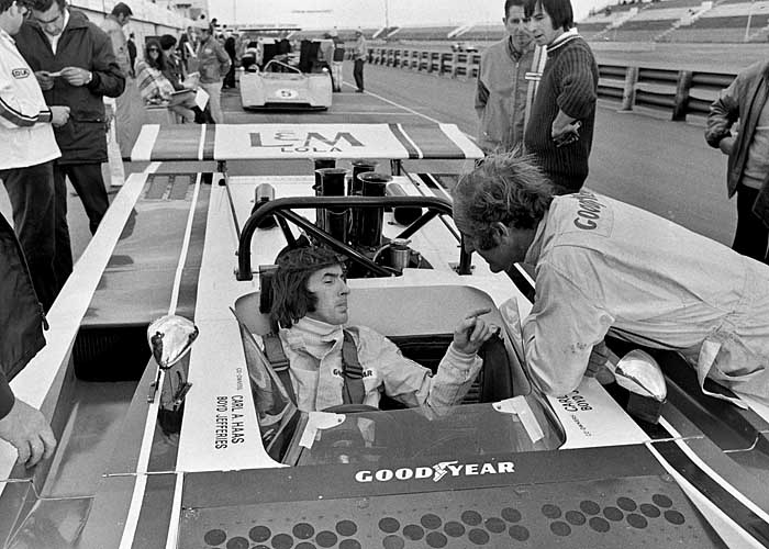 Jackie Stewart and Denny Hulme