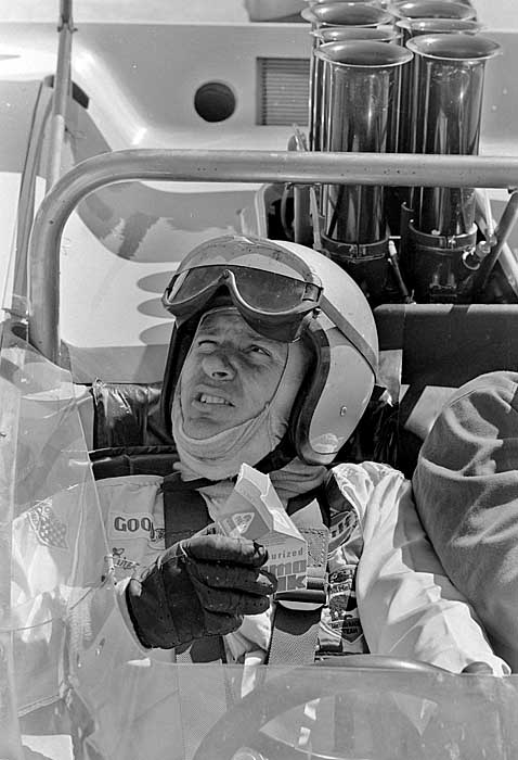 Bruce McLaren race car driver