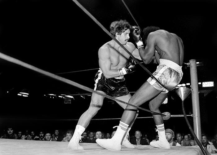 Gordon Racette boxer
