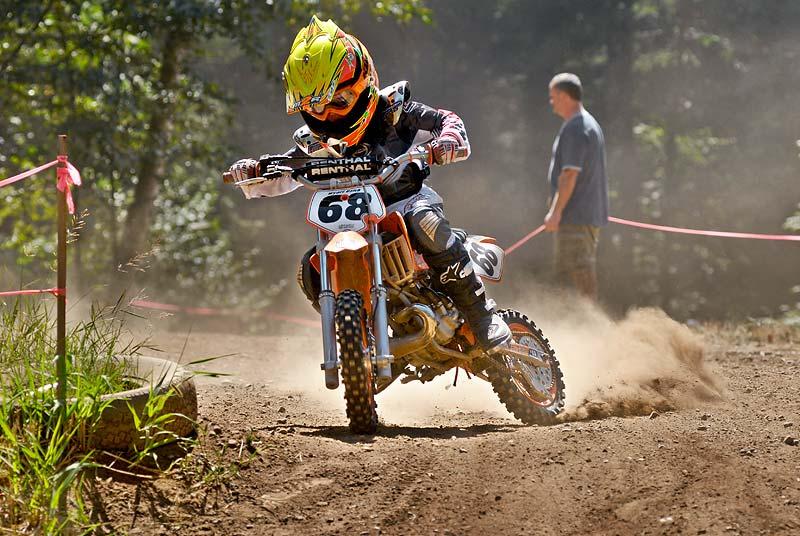 Wyatt Uzick motocross 2006