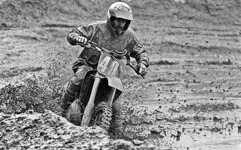 July 1992 -- BC Oldtimers International motocross race at Mission, BC.