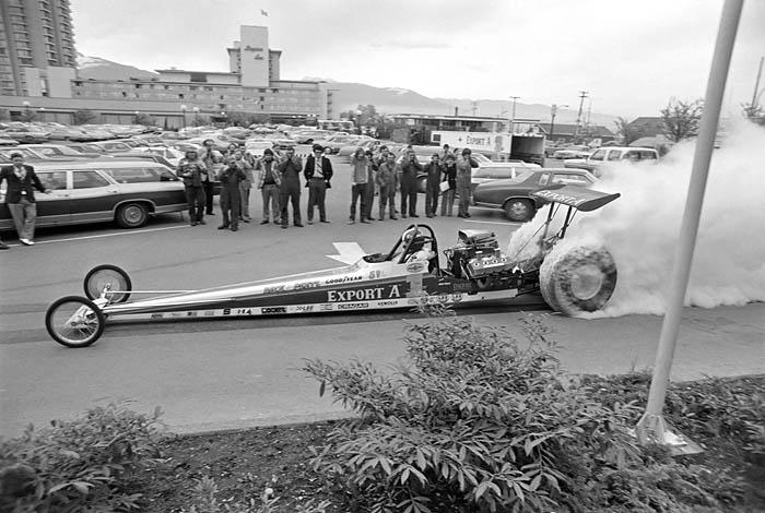 Gary Beck drag racer