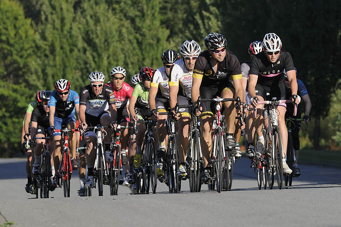 Escape Velocity Tuesday night criteriums at Glenlyon Business Park in Burnaby