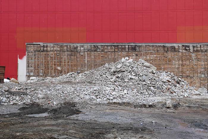 Demolition in Vancouver