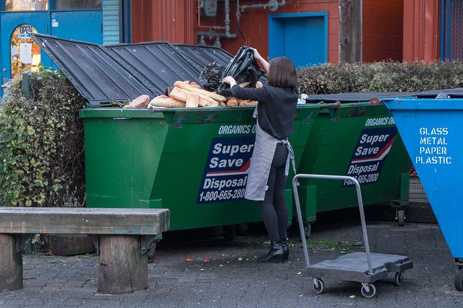 Dumpster food 1